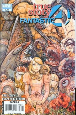 Fantastic Four True Story #2 (2008) Marvel comic book